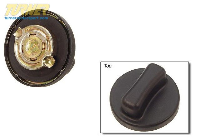 T#7352 - 16111184664 - BMW Fuel Supply Filler Cap Without Lock 16111184664 - Genuine BMW -