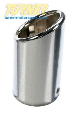 T#7477 - 18107500194 - Chrome Exhaust Tip - E46 323i 325i - Genuine BMW - BMW