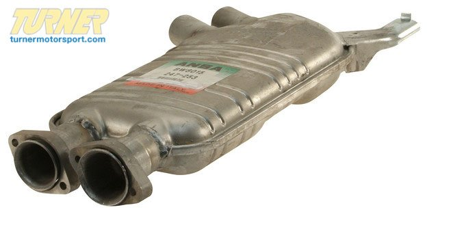 T#7497 - 18121427801 - Genuine BMW Center Silencer - 18121427801 - E34 - Genuine BMW -