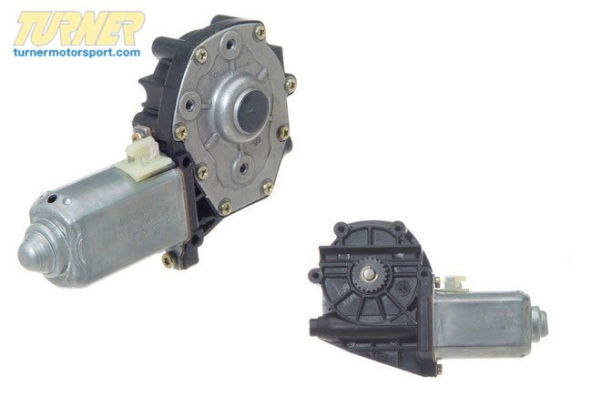 T#23956 - 51331386987 - Window Motor - Left - E30 318i 325e 325es 325i 325is To 3/1988 - Genuine BMW - BMW