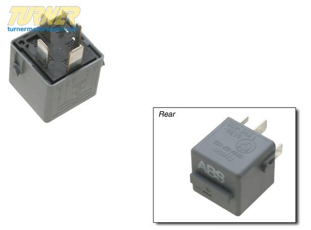 T#10640 - 61361393403 - Genuine BMW Abs Motor Relay, Mausgrau - 61361393403 - E36,E36 M3 - Genuine BMW -