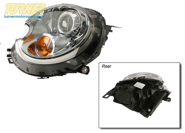 T#18984 - 63127270023 - Bi-xenon Headlight, Left 63127270023 - Hella -