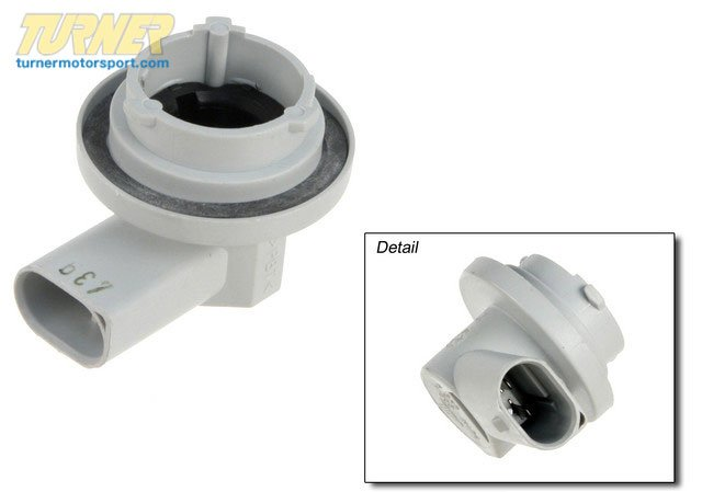 T#14083 - 63136914121 - Genuine BMW Bulb Socket,Turn Indicator,Yellow - 63136914121 - E46 - Genuine BMW -
