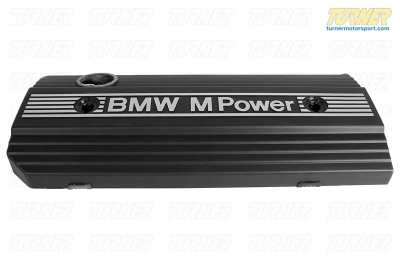 T#20618 - 11121403343 - Engnie Cover M-Power - 11121403343 - E36 M3 S50 1995 - Genuine BMW - BMW