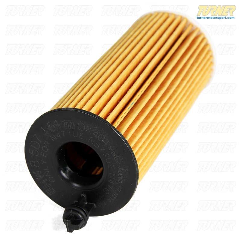 T#14541 - 11428507683 - Oil Filter - F30 328d, F10 535d, F01 740d, F25 X3 28d, F15 X5 35d - Genuine BMW - BMW