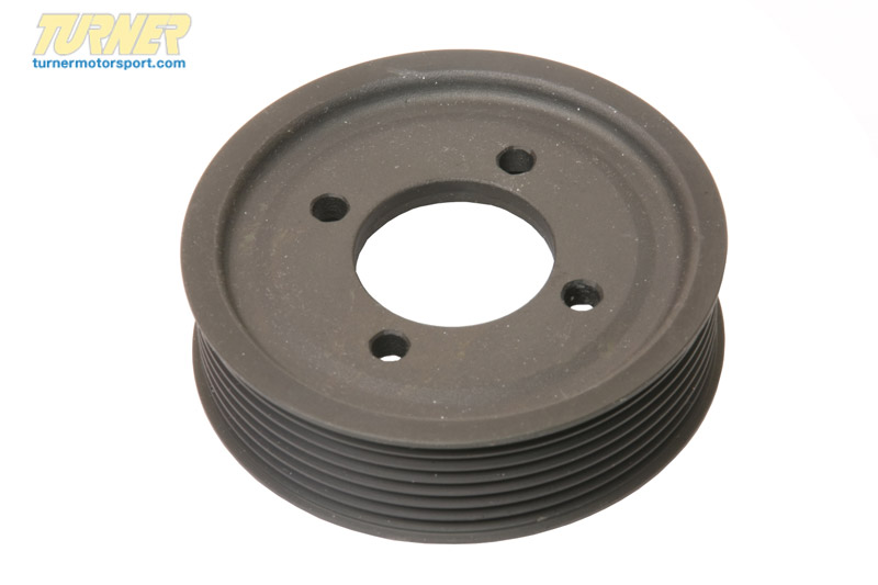 T#22298 - 11511736910 - Genuine BMW Pulley D=104mm - 11511736910 - E34,E38 - Genuine BMW -