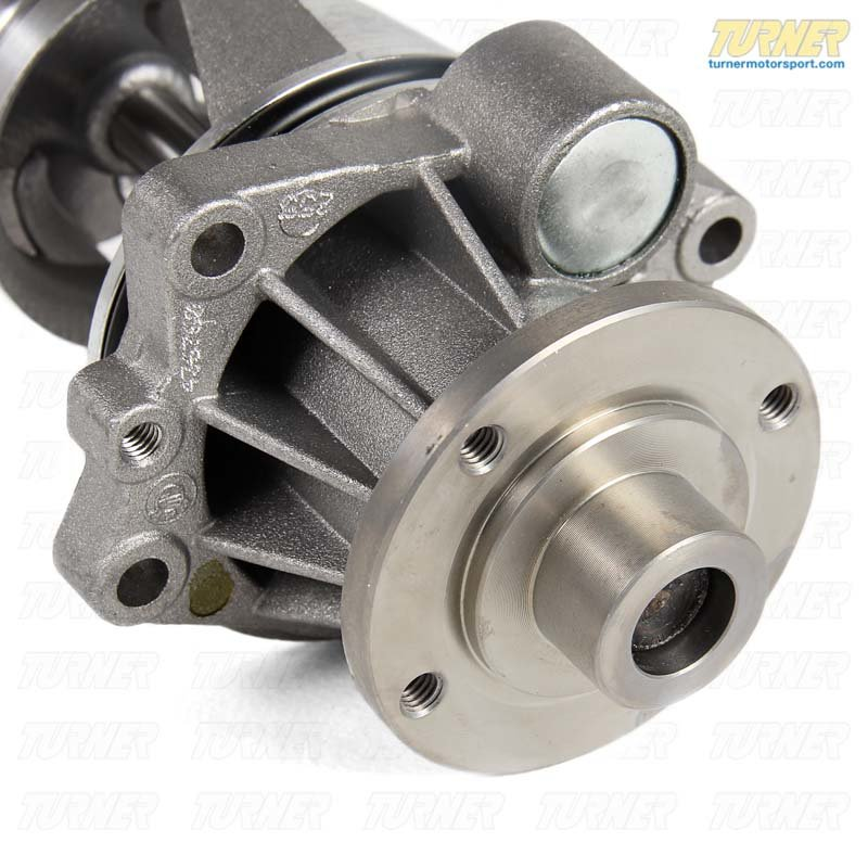 T#5574 - 11518331044 - Water Pump - E9X M3 - with Upgraded Aluminum Impeller  - Genuine BMW Motorsport - BMW