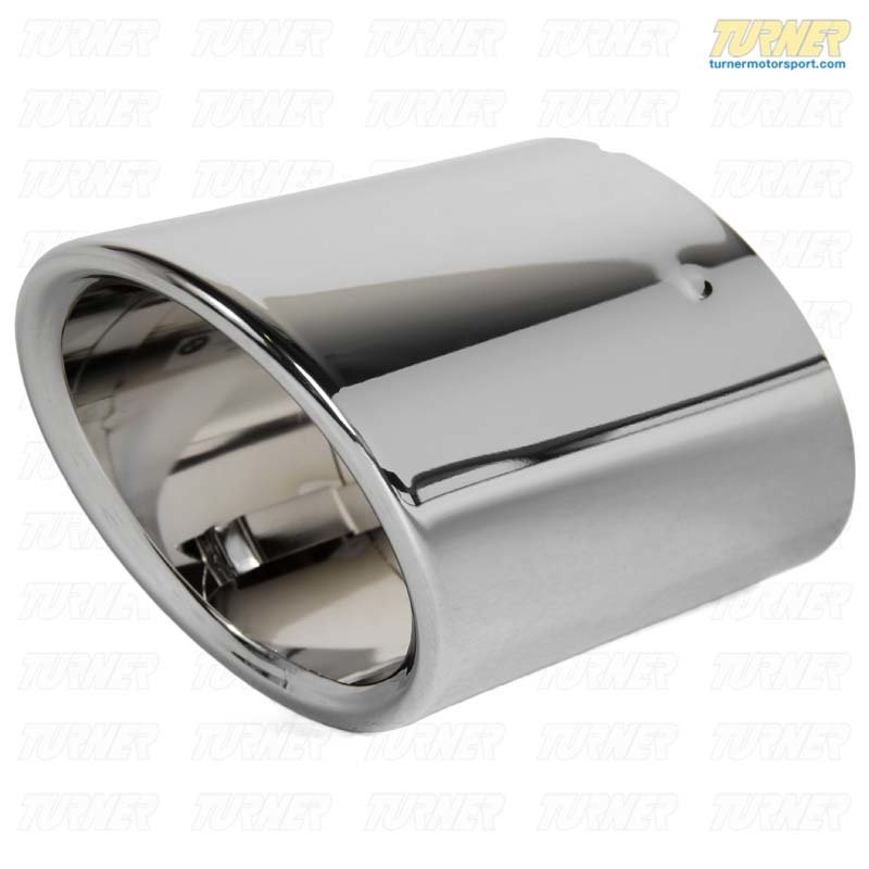 T#48490 - 18307599189 - Genuine BMW Tailpipe Tip, Chrome - 18307599189 - Genuine BMW -