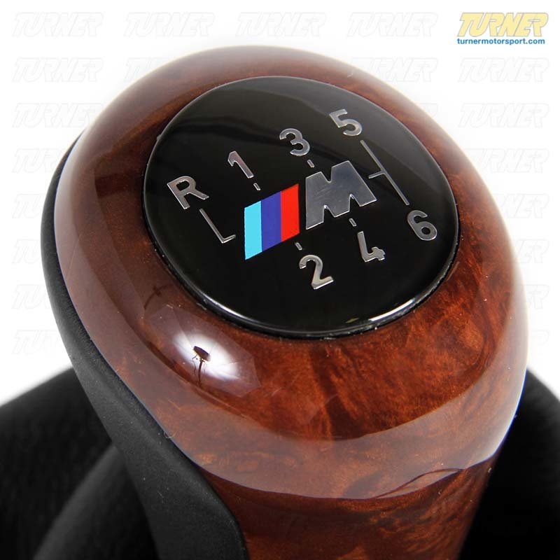 T#13278 - 25112229428 - Genuine BMW Gearshift Shift Lever Covering Leather 25112229428 - Genuine BMW -