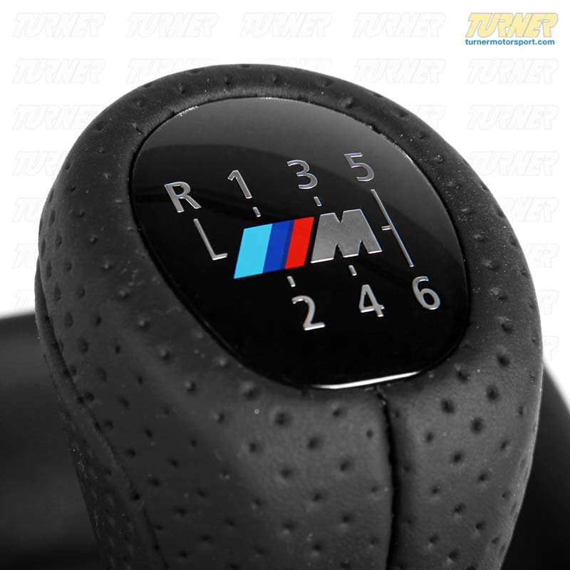 T#15299 - 25118037304 - Genuine BMW Gearshift Shift Knob In Leather With C 25118037304 - Genuine BMW -