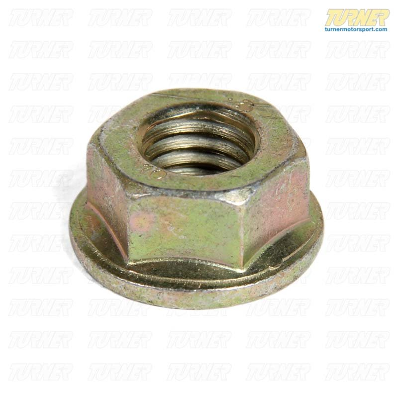 T#13300 - 26111227843 - DRIVESHAFT HEX NUT with RIBS 26111227843 - Genuine BMW -