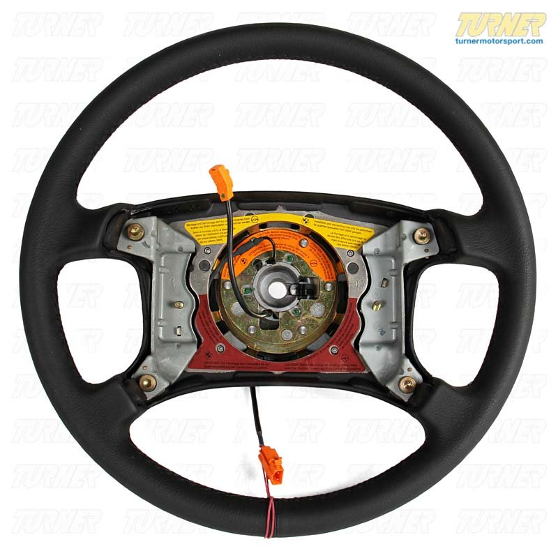 T#57449 - 32341157700 - Genuine BMW Leather Steering Wheel - 32341157700 - E30,E30 M3 - Genuine BMW -