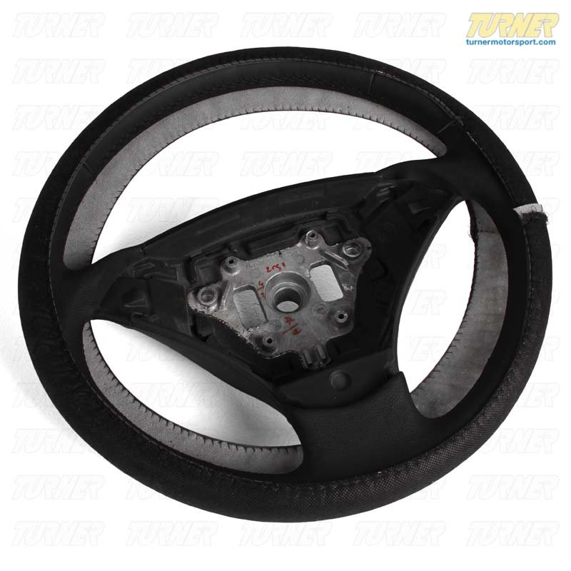 T#57605 - 32346770075 - Genuine BMW Leather Steering Wheel Schwarz - 32346770075 - Genuine BMW -