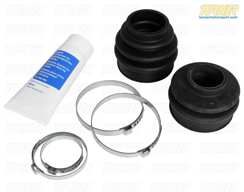T#59830 - 33217504524 - Rear Axle CV Boot Repair Kit - E46 - Vaico - BMW
