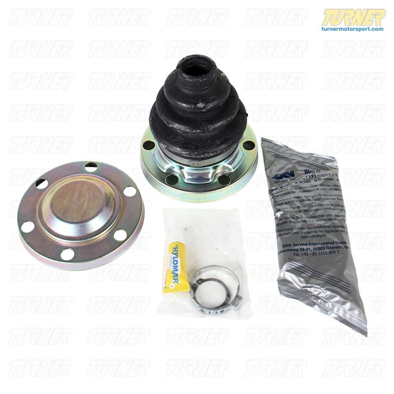 T#7943 - 33219067814 - Rear Axle CV Boot Repair Kit - Inner - E30 318is 325i 325is - Genuine BMW - BMW
