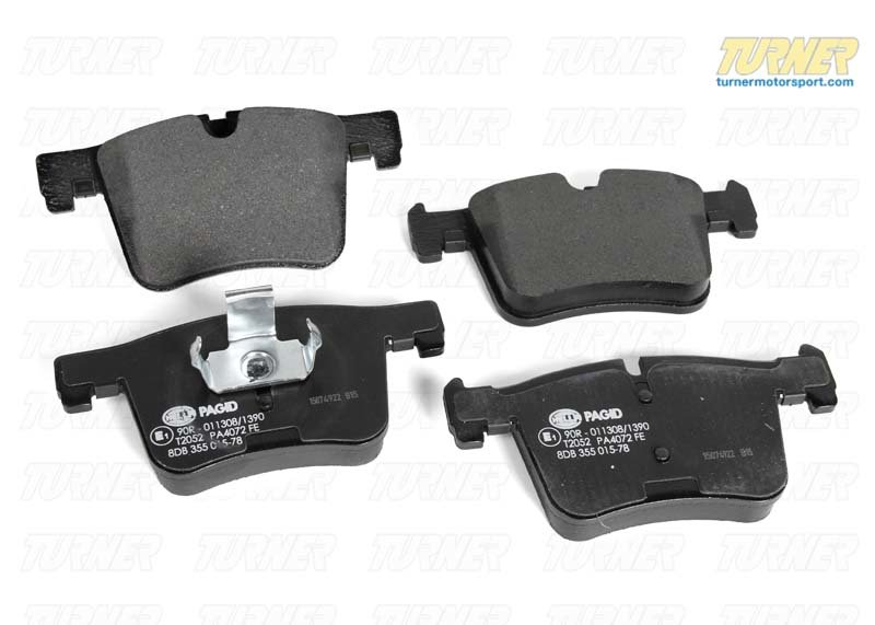 T#22965 - 34106856191 - Genuine BMW Front Brake Pads - F25 X3 2012+, F26 X4  - Genuine BMW - BMW