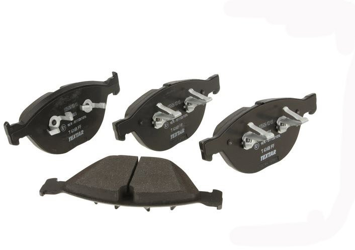 T#15842 - 34112284065 - OEM Front Brake Pads - E60 M5, E63 M6  - Textar - BMW