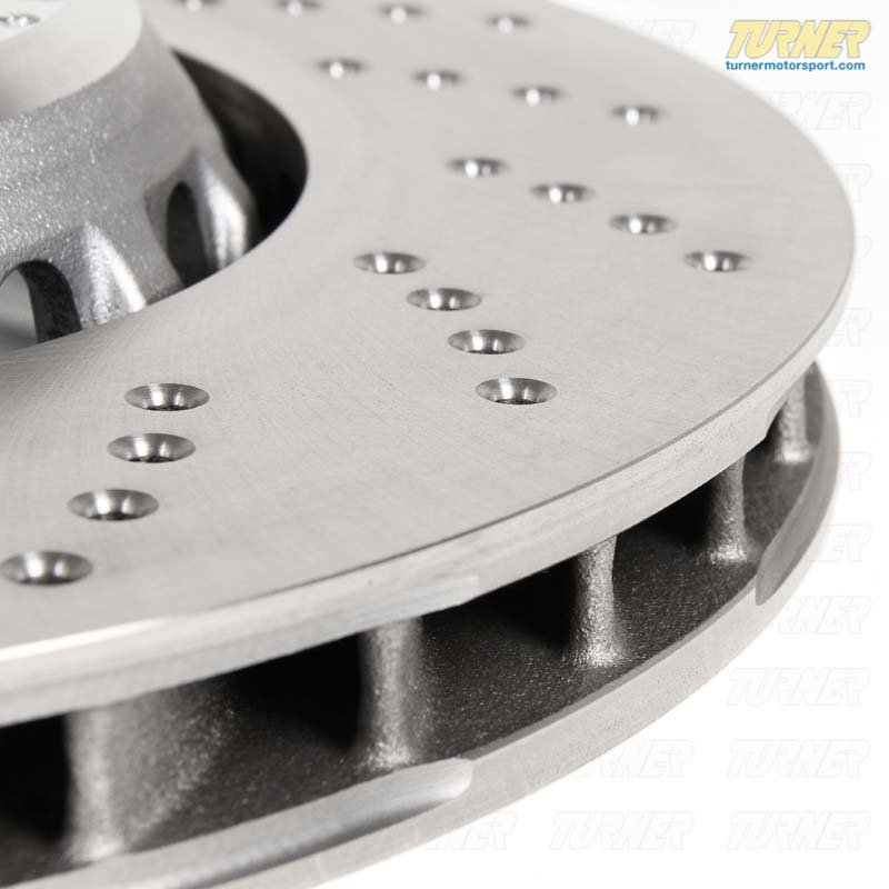 T#22991 - 34112284102 - Genuine BMW Ventilated-perforated Brake - 34112284102 - Genuine BMW -