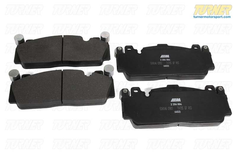 T#185284 - 34112284869 - Genuine BMW Front Brake Pads - F10 M5, F13 M6, F06 M6 GC - Genuine BMW - BMW