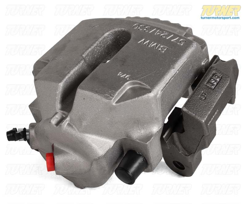 T#5829 - 34116769094R - Brake Caliper - Rebuilt - Front Right - E9X 330i, 330xi, E89 Z4 3.0i, 3.5i  - Centric - BMW