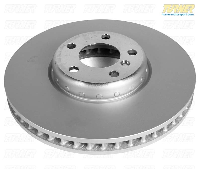T#19728 - 34116785669 - Genuine BMW Brake Rotor - Front Left - F10 F12 F06 F01 F07  - Genuine BMW -