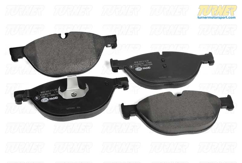 T#61922 - 34116851269 - OEM Front Brake Pads (Euro Compound) - F02, F06, F07, F10, F13 - Pagid - BMW