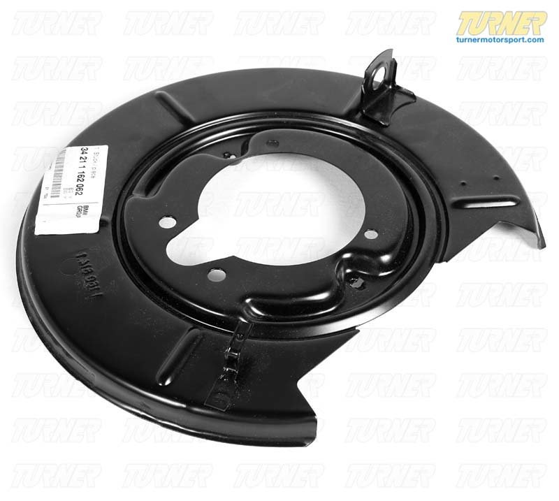 T#8064 - 34211162062 - Rear Brake Backing Plate - Right - E30 318is, 325e 325i 325is, E36 318ti, Z3 - Genuine BMW - BMW