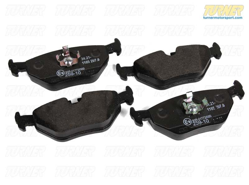T#15896 - 34216761253 - Genuine BMW Brakes Repair Kit, Brake Pads 34216761253 - Genuine BMW -