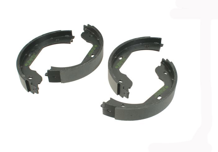 T#12195 - 34416761293 - Parking Brake Shoe Set - E46 M3, E39 M5, E60, E63, E65, X3, X5, Z4  - Pagid - BMW