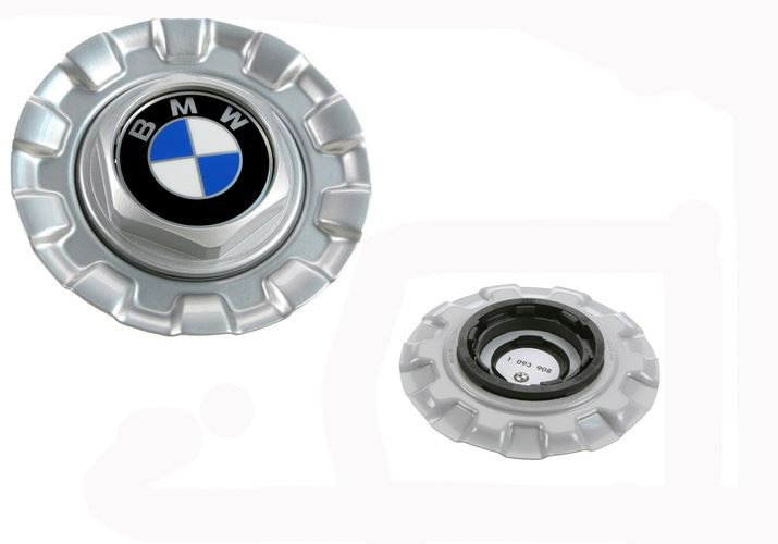 T#8204 - 36131093908 - Genuine BMW Hub Cap - E39 with Cross Spoke 29 style wheels - Genuine BMW - BMW