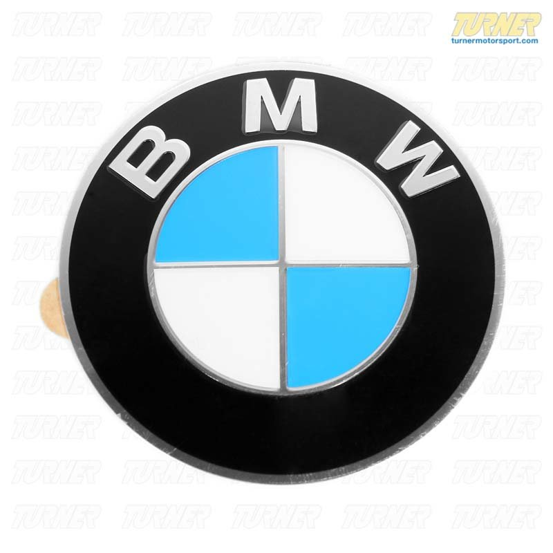 T#13637 - 36136758569 - Genuine BMW Wheel Emblem 70mm With Adhesive Backing 36136758569 - Genuine BMW -