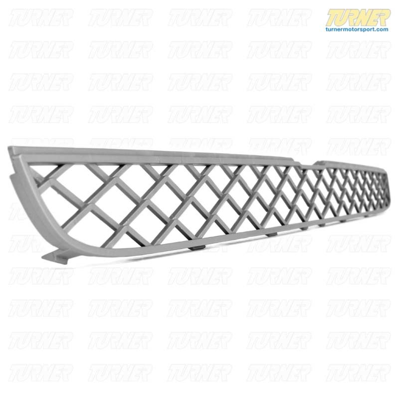 T#76338 - 51117168633 - Genuine BMW Grill, Center Upper Alu Matt - 51117168633 - E70,E71 - Genuine BMW -