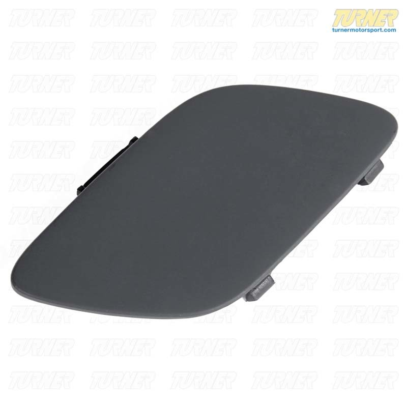 T#16047 - 51117187956 - Towing Hook Cover - Primed - E92 E93 with standard bumper - Genuine BMW - BMW