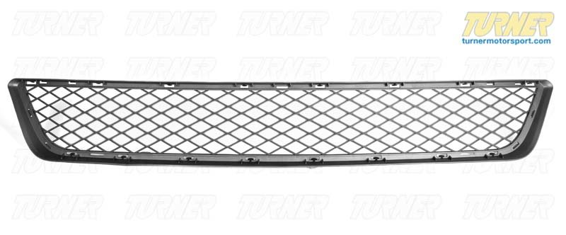 T#76605 - 51117222854 - Genuine BMW Grill, Center Lower Alu Matt - 51117222854 - Genuine BMW -