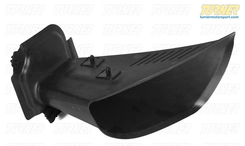 T#8398 - 51118044702 - Genuine BMW Front Right Brake Air Duct - 51118044702 - E85 - Genuine BMW -