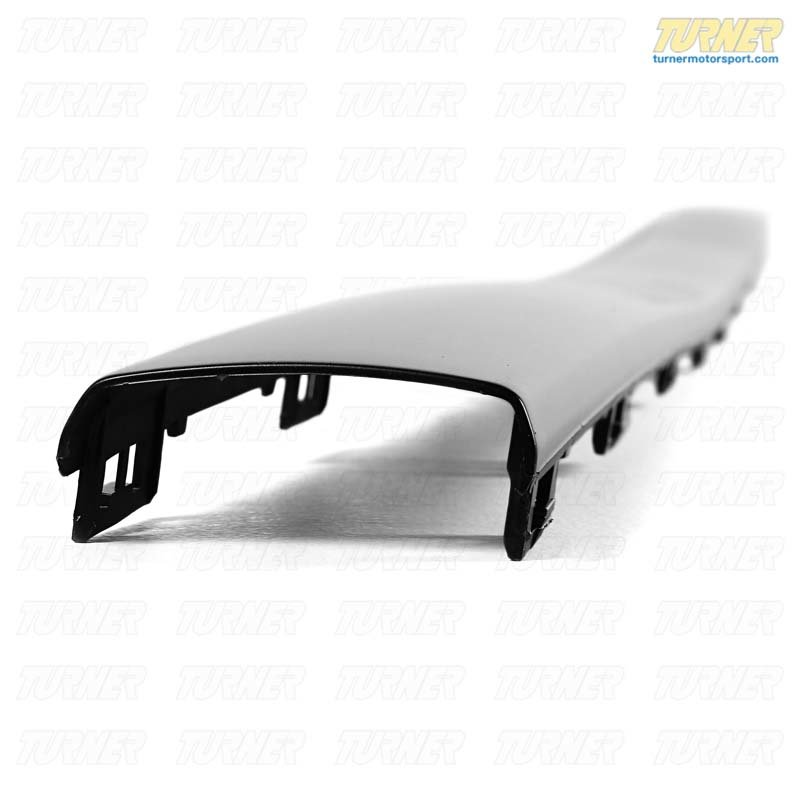 T#8473 - 51121945926 - Rear Bumper Impact Strip - Center - E30 6/1988-1991 - Genuine BMW - BMW