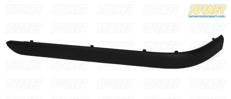 T#23413 - 51128227575 - Genuine BMW Protective Rubber Strip, Lft - 51128227575 - Genuine BMW -