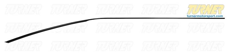 T#79526 - 51131953065 - Genuine BMW Moulding Roof Left Schwarz - 51131953065 - E30,E30 M3 - Genuine BMW -