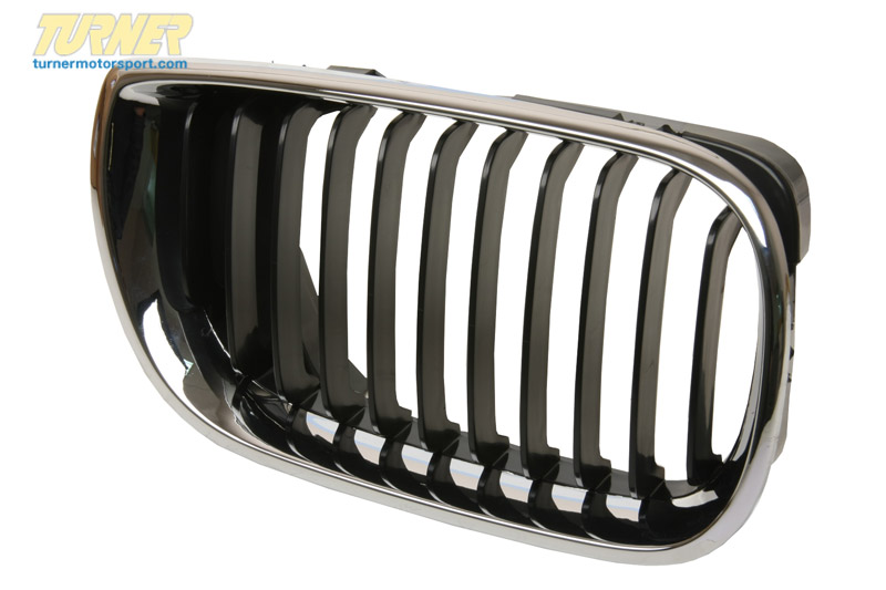 T#8676 - 51137030546 - Genuine BMW Grille Right Schwarz - 51137030546 - E46 - Genuine BMW -