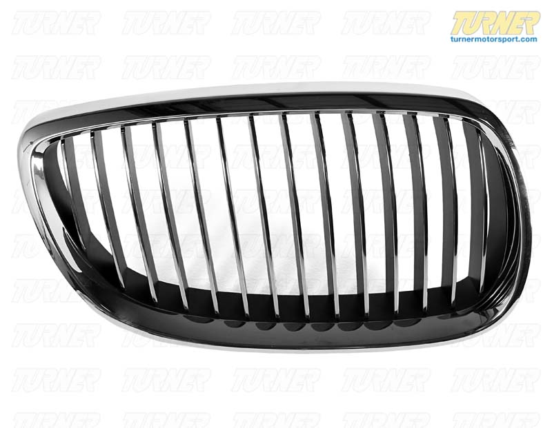 T#8698 - 51137157278 - Kidney Grill - Chrome - Right - E92 328i/xi 335i/xi, E9x M3  - Genuine BMW - BMW