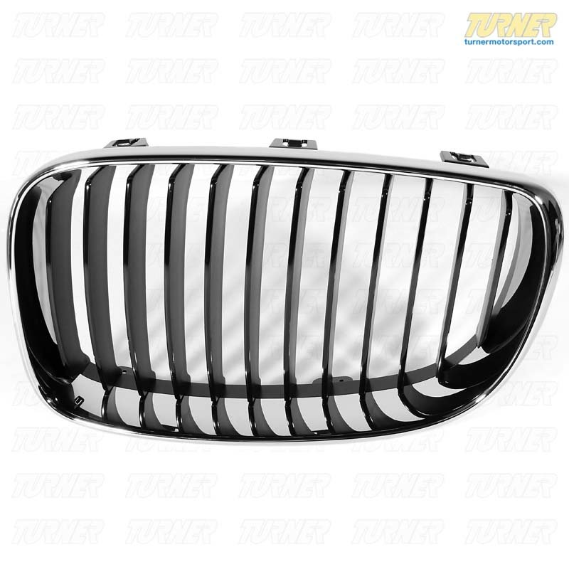 T#178606 - 51137322209 - Genuine BMW Trim Grill, High-Gloss Black, Left - 51137322209 - E82 - Genuine BMW -