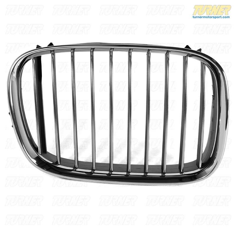 T#23602 - 51138184532 - Genuine BMW Chrome Grill - Right - E39 540i  1997-2000 - Genuine BMW - BMW