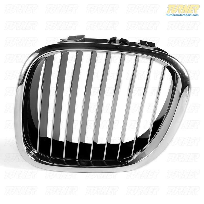 T#8812 - 51138412949 - Kidney Grill with Chrome Slats - Left- Z3 1997-2002 - Genuine BMW - BMW