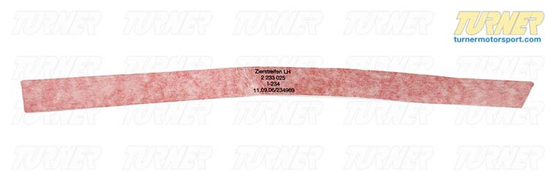 T#80924 - 51142233025 - Genuine BMW Decorative Strip Front Left Rot - 51142233025 - Genuine BMW -