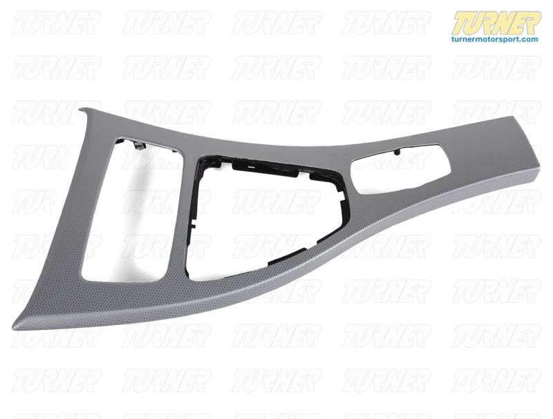 T#21905 - 51167898999 - Genuine BMW Trim, Center Console, Alumin - 51167898999 - Genuine BMW -