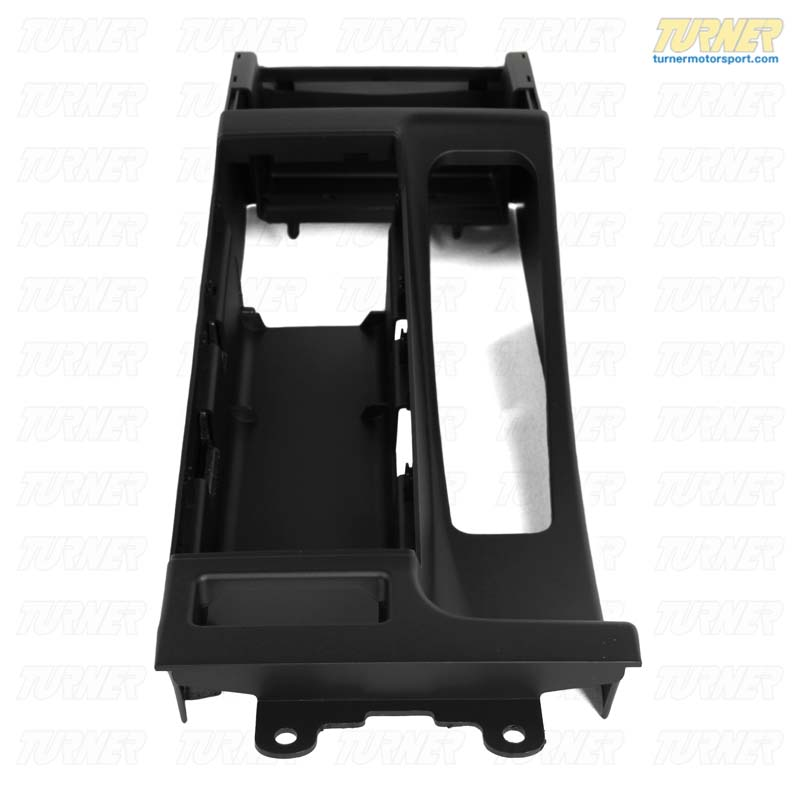 T#9065 - 51168218305 - Center Console - for cars with Armrest - Black - E46, E46 M3 - Genuine BMW - BMW