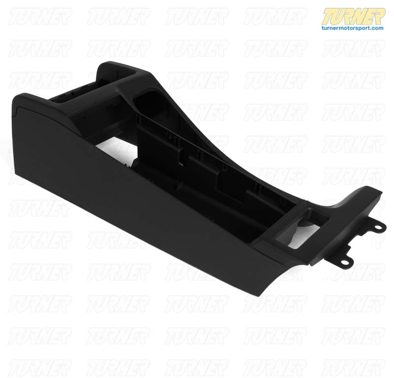 T#12789 - 51168234154 - Center Console -for cars without Armrest - Black - E46, E46 M3 - Genuine BMW - BMW