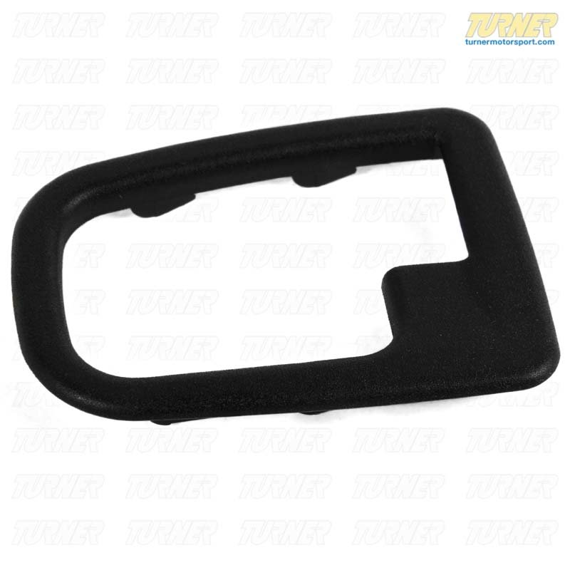 T#9312 - 51228219023 - Inner Door Handle Trim Surround - Left - E36, Z3 - Genuine BMW - BMW