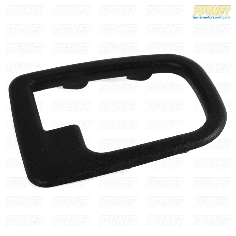 T#9313 - 51228219024 - Inner Door Handle Trim Surround - Right - E36, Z3 - Genuine BMW - BMW