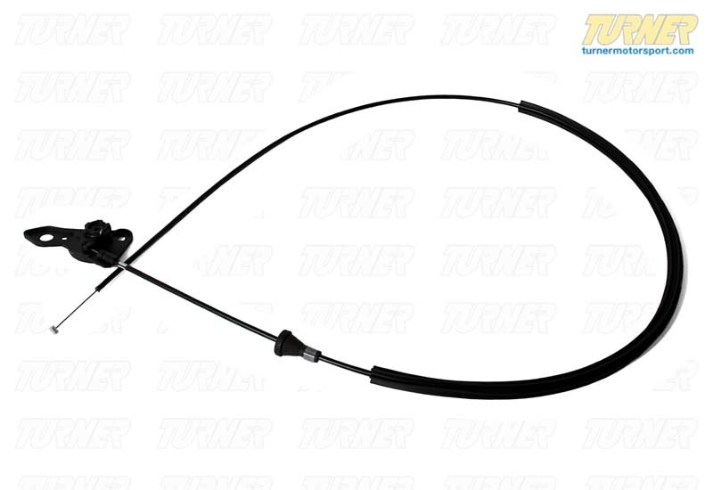 T#9350 - 51231977689 - Hood Release Cable - E36 Coupe - Genuine BMW - BMW